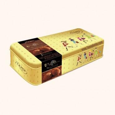 شکلات کادویی ترافس سموئی فرانسه با جعبه فلزی