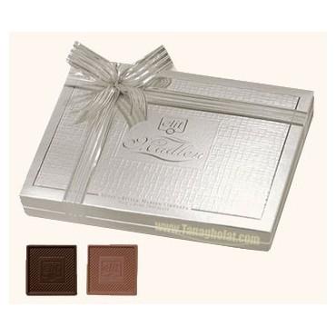 شکلات کادویی الیت مدل VIP SILVER روبان دار
