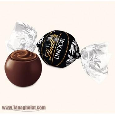 شکلات پذیرایی لینت مدل لیندور 200 گرم- تلخ 60%