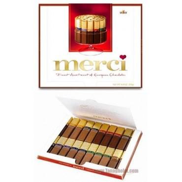 شکلات مرسی 250 گرمی - قرمز