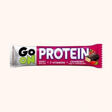 پروتئین بار 20% کرن بری، گوجی GO ON با روکش شکلات