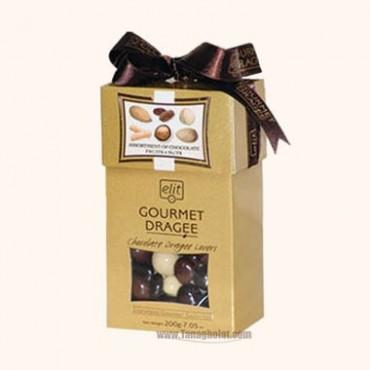 شکلات کادویی الیت مدل دراژه روبان دار