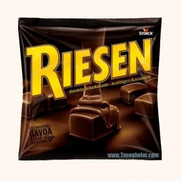 شکلات تافی پذیرایی 150 گرمی تلخ ریزن