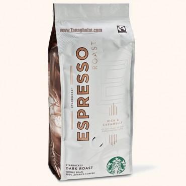 دانه قهوه استارباکس دارک مدل اسپرسو رست