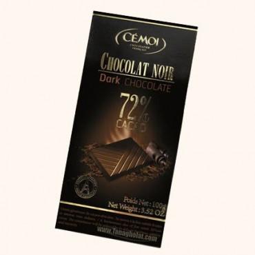 شکلات تلخ 72% سموی فرانسه