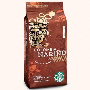 دانه قهوه استارباکس مدیوم مدل کلمبیا نارینو