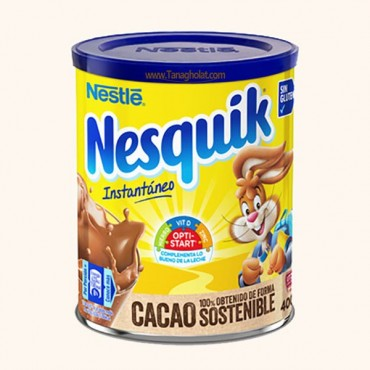 پودر شکلات 400 گرم نسکوئیک بدون گلوتن