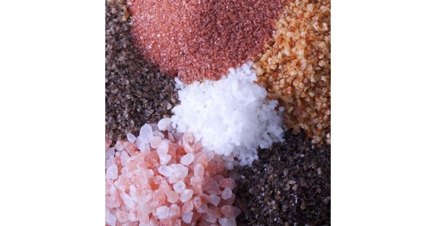 انواع نمک و کاربرد آن